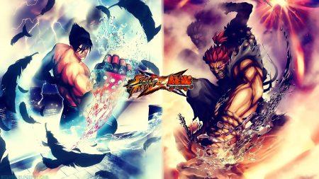 street fighter x tekken, characters, muscles