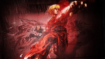 street fighter x tekken, ken, character