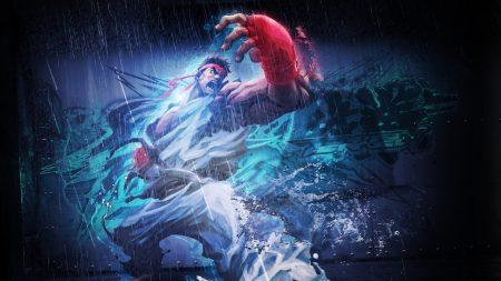 street fighter x tekken, ryu, angry