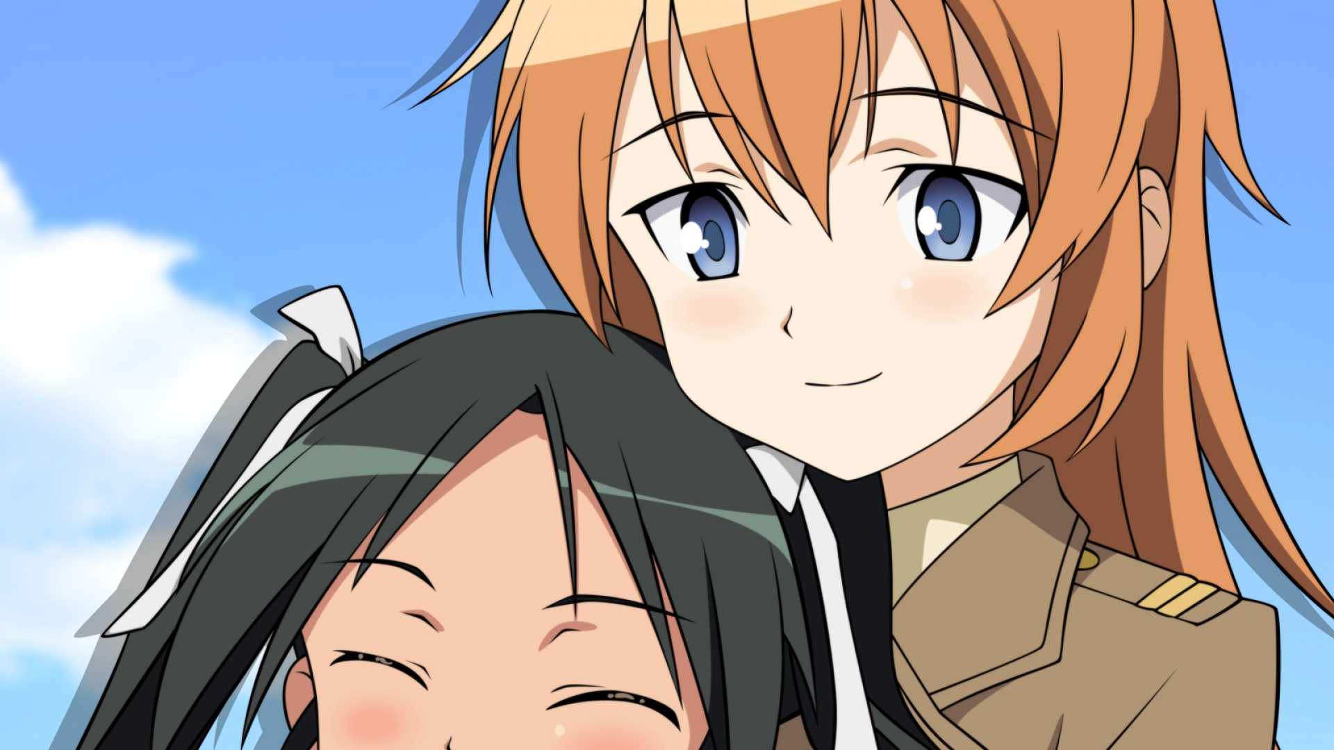 strike witches, francesca lucchini, charlotte e yeager