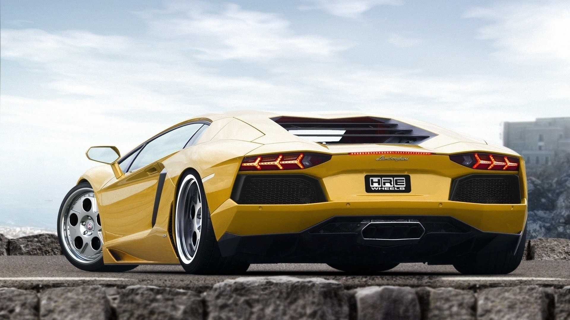 Download Wallpaper 1920x1080 Style Cars Yellow Sport