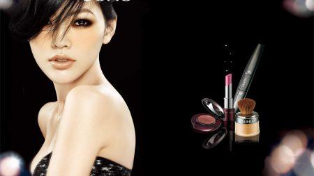 suhu, girl, cosmetics