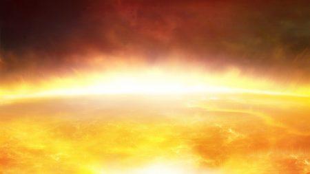 sun, heat, fire
