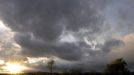 sun rays, dawn, field
