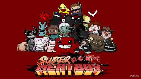 super meat boy, characters, faces