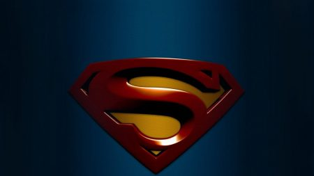superman, blue, background