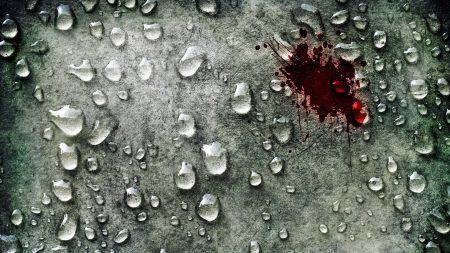 surface, drop, blood
