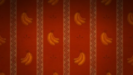 surface, patterns, bananas
