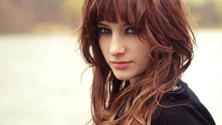 susan coffey, brunette, face