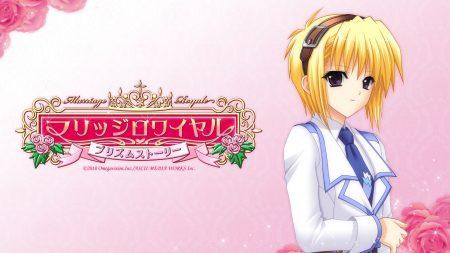 suzuhira hiro, girl, blonde