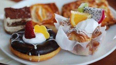 sweet, dessert, berry