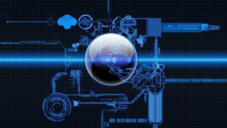 system, scheme, blue