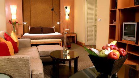 table, fruit, furniture