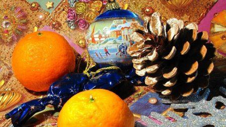 tangerines, tavern, food