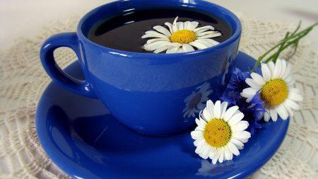 tea, cup, plate