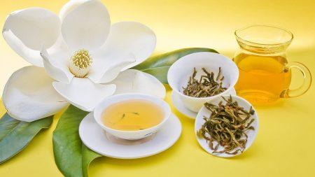 tea, flower, cup