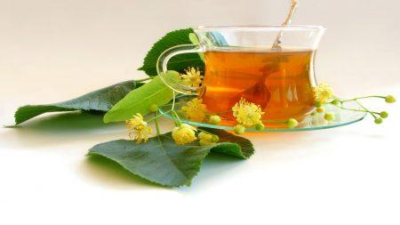 tea, linden, flowers