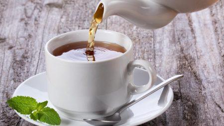 tea, white, cup