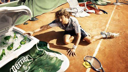 tennis, thirst, sportsman