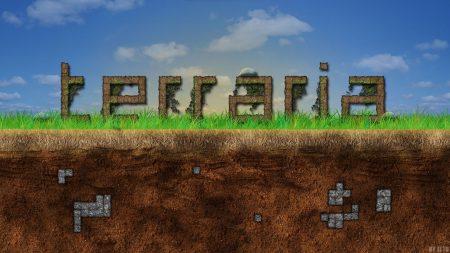 terraria, ground, grass
