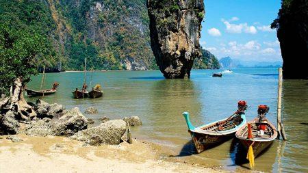 thailand, beach, tropical