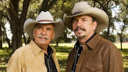 the bellamy brothers, hats, mustaches