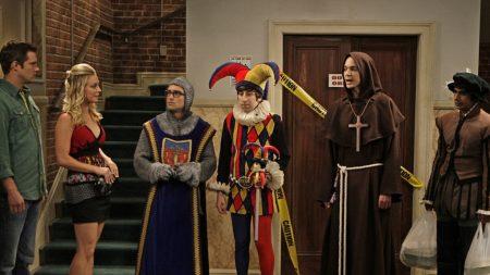 the big bang theory, actors, masquerade