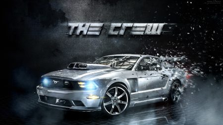 the crew, cars, racing