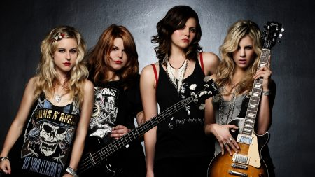 the donnas, girls, print