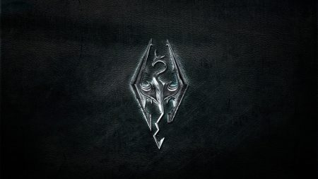 the elder scrolls, emblem, background