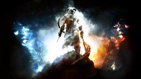 the elder scrolls, warrior, light