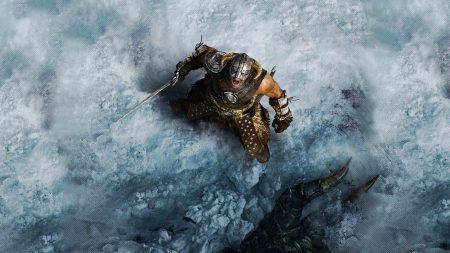the elder scrolls, warrior, scream