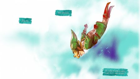 the legend of zelda, jump, elf