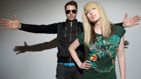 the ting tings, glasses, hands