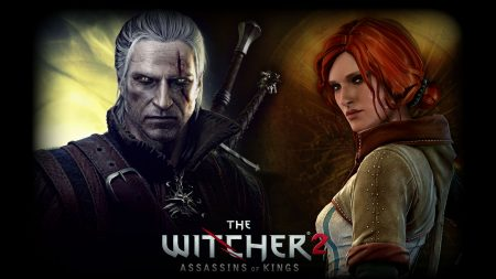 the witcher 2 assassins of kings, warrior, girl