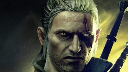 the witcher, face, scarm