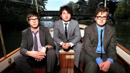 the young knives, suits, boat