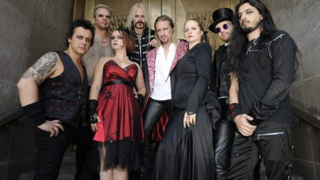 therion, band, girls