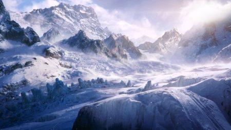 tops, snow, mountains