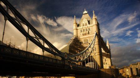 tower bridge, england, bridge