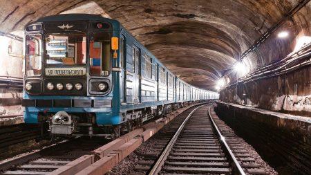 train, railway, underground