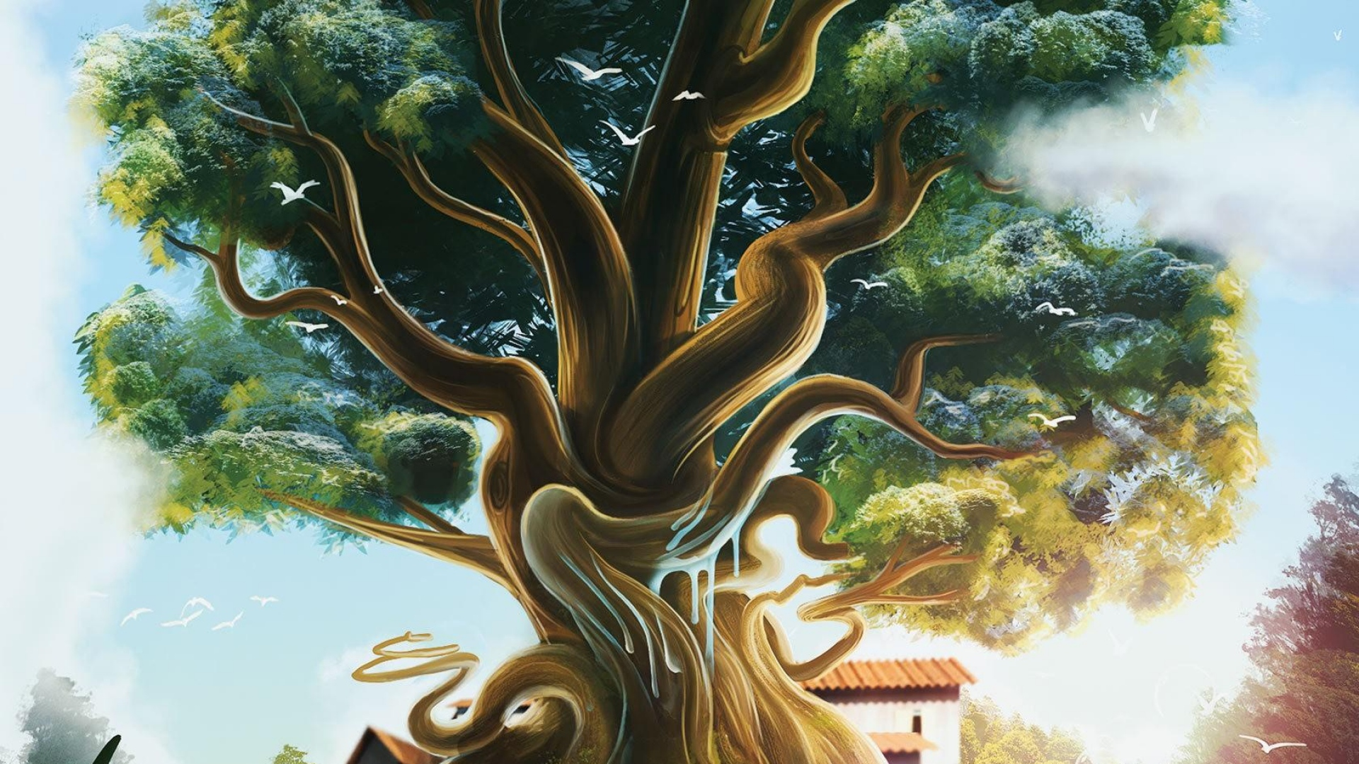 древо жизни картинка фон законное место