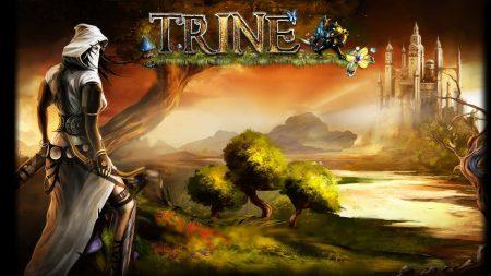 trine 2, girl, bow