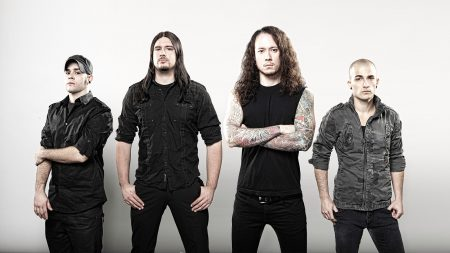 trivium, tattoo, hair