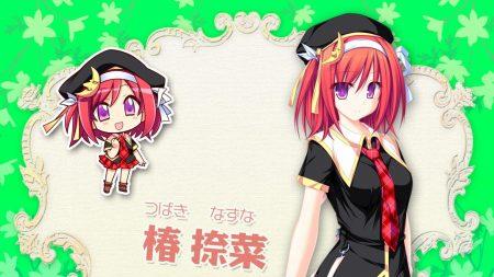 tsubaki nazuna, girl, hat