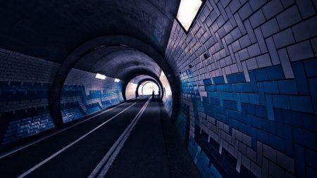 tunnel, underground, subway