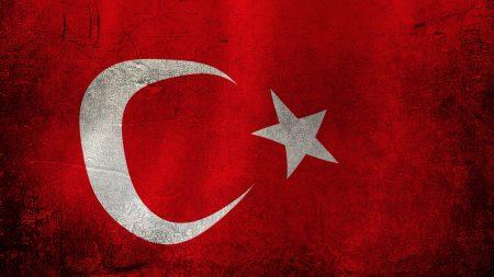turkey, flag, red