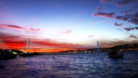 turkey, sea, bridge