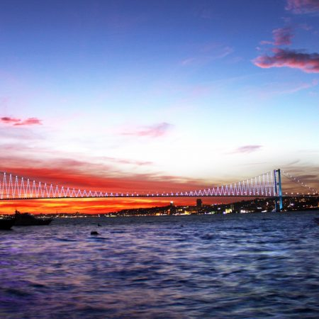 turkey, sea, bridge