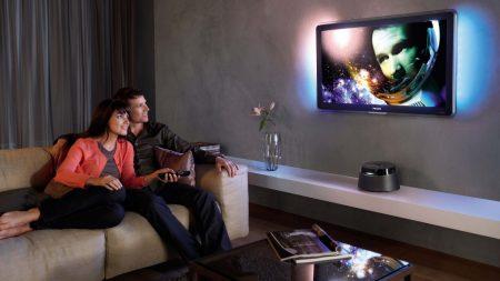 tv, plasma, couple